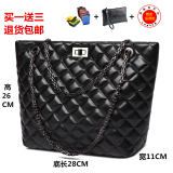 Discount Women S Stylish Rhombus Chain Shoulder Tote Bag Other On China
