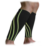 Buy One Pair Professional Leg Calf Compression Sleeves Guards For Running Cycling Basketball Badminton Premium Sports Calf Support Sleeve Stockings For Women Men Calf Pain Relief Shin Splints Black L Oem Cheap