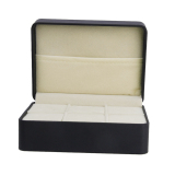 Sale One Pcs Black Pu Leather Cufflinks Tie Clip Store Box Storeage Case W 6 Slots Intl Bolehdeals On Hong Kong Sar China