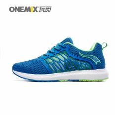 How To Get Onemix New Running Shoes Breathable Mesh Men Athletic Shoes Super Light Outdoor Men Sport Shoes Walking Shoes Intl