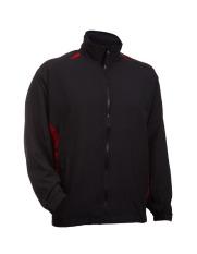 Low Cost Oren Sport 100 High Density Windbreaker Jacket Long Sleeve(Black Red) Intl