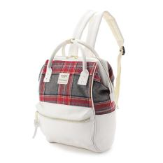 Buying Original Japan Anello X The Emporium Limited Edition Backpack Best Seller Red Check Ivory