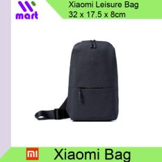 Original Xiaomi Bag Urban Leisure Chest Pack For Men Women Black