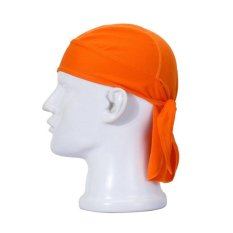 Outdoor Cycling Sports Breathable Cap Hat Pirate Scarf Orange Intl Shopping