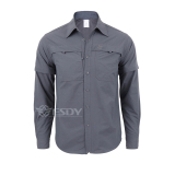 Price Comparisons For Outdoor Men Summer Thin Shirt Shirt Gray