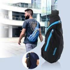Outdoor Nylon Men Shoulder Bag Leisure Tourism Sports Chest Pack Riding Backpack(black) - Intl By Highfly.