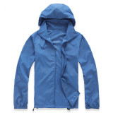Buy Outdoor Skin Wind Coat Quick Drying Clothes Rash Guards Raincoat Cheap China