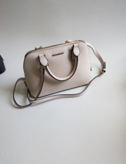Women S Cross Pattern Shell Bag Beige Beige Lower Price