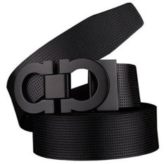 Buying Ovia Men S Reversible Belt 35Mm In Width Smooth Bukcle Belt Black Black Intl