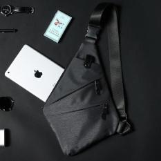 Sale Oxford Crossbody Bags Shoulder Bag For Men Fashion Sling Bag Chest Pack Man Casual Travel Messenger Bag Grey 22X30X2 5Cm Intl Oem