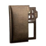 Buy Pabojoe 928G Premium Men Wallet Genuine Leather Long Wallet Goldenbrown Intl China