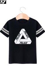 Review Palace Street Short Sleeve Cotton Men T Shirt Black 2 Black 2 On China