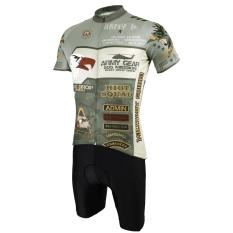Sale Paladin Men Summer Cycling Jersey And Shorts Set Short Sleeve Sports Clothing China