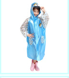 Top 10 Paradise Child Student Boys Girls Green Raincoat Children Raincoat Blue To Send Waterproof Pants Sets Blue To Send Waterproof Pants Sets
