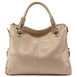 Brand New Paste Casual First Layer Of Leather Women S Handbag Messenger Bag Leather Women S Bag Off White Color