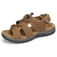 Pathfinder Men Beach Shoes Sporty Outdoor Sandals Light Brown Best Buy