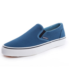 Discounted Renben A Foot Cover Men S Spring And Autumn Canvas Shoes 42 Blue 42 Blue