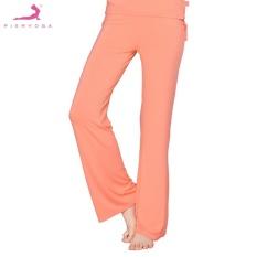 Pieryoga 41868Mm Orange Yoga Comfortable Full Length Pants With Drawstring M Intl Pieryoga Cheap On China