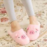 Sale Piggy Bedroom Slippers Pink Oem Online