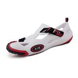 Pinsv Men Comfortable And Lightweight Sandals White Black Shop