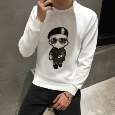 Sale Plus Velvet Warm On The Student Base Small Shirt Thick Long Sleeved T Shirt 832 White Regular Version China Cheap