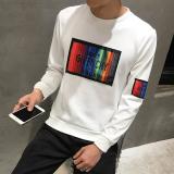 Plus Velvet Warm On The Student Base Small Shirt Thick Long Sleeved T Shirt 835 White Regular Version Deal