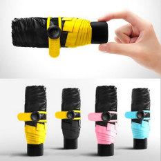 Mini Ultralight Five Folding Umbrella No Packaging Box Pink No Packaging Box Pink For Sale Online