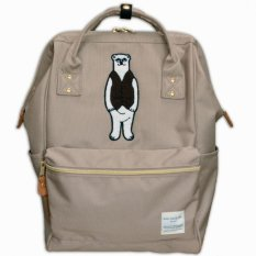 Deals For Polar Bear Backpack Original Japan Best Seller Popular Large Capacity Unisex Khaki X Black Large Size