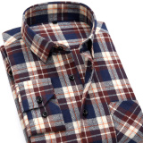 Popular Brand Men S Cotton Long Sleeved Shirt Shirts Ctf13 Online