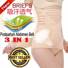 390680d8ef Premium Modern Bengkung 3pcs in 1 Set Body Shaper Waist Trimmer Postpartum  Support Belt  READY