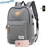 The Cheapest Premium Quality Male Female Backpack Usb Charge Computer Bag Anti Theft Notebook Backpack 15 6 Inch Waterproof Laptop Backpack For Men Women Sch**L Bag Travel Bags Grey Intl Online