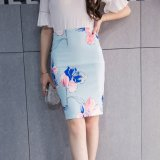 Price Step Korean Style Spring And Autumn New Style Mid Length Skirt Oem New