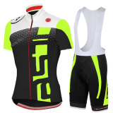 Sale Pro Summer Breathable Quick Dry Cycling Clothing Bike Wear Racing Clothes Bicycle Jacket Polyester Shirt Cycling Jersey Lycra Bib Short Pants Gel Pad Set Intl Oem On China