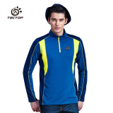 For Sale Tectop Ts6891 Outdoor Long Sleeved For Men And Women Quick Drying Clothes Long T Shirt Sapphire Blue Color