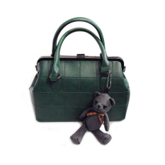 Compare Prices For Pu Leather Satchel Women Messenger Bag Green