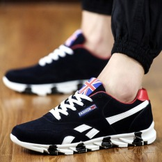 Cheap Pudding Korea Korean Fashion Korea Korean Fashion Breathable Men Casual Sneakers Black