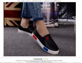 Pudding Korea Korean Fashion White Leather Shoes Casual Shoes Review