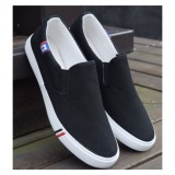 Pudding Korea Korean Fashion Men S Casual Canvas Shoes Student Black Price