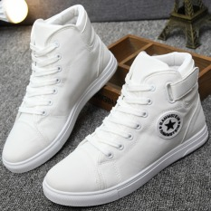 Pudding Korea Korean Fashion Men S Casual Canvas Sports Shoes White Ome Cheap On China