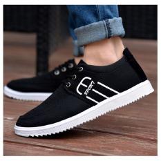Price Comparisons For Pudding Korea Korean Fashion Men S Casual Fashion Sports Running Shoes Black