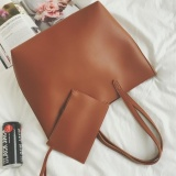 Pudding South Korea Retro All Match Leisure High Capacity Portable Bag Satchel Bag Shoulder Bag Brown Intl Coupon Code