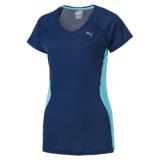 List Price Puma Core Run Ss Women T Shirt Blue Puma