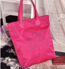 Compare Price Pwp Purchase With Purchase Coach Nylon Tote Bag Shoulder Bag Pink On Singapore