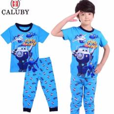 Pyjamas For Boy Super Wing Pajamas Sleepwear By Eddalabz.