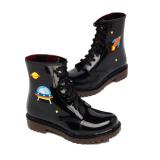 Shop For Fashion Low Top Rain Boots Rubber Boots Space Rabbit