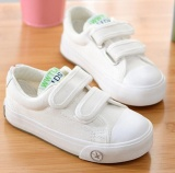 Qizhef Boy Casual Shoe White Shoe Pure Canvas Shoes Sneakers White Intl Best Buy