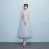 Qq Evening Dress Wedding Dress Grey Intl Deal