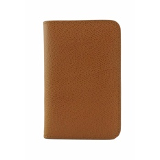 Rad Russel Camel Leather Card Holder On Singapore
