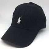 Deals For Ralph Lauren Baseball Cap Black With White Pony