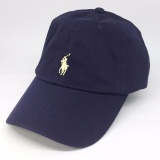 Price Comparisons For Ralph Lauren Baseball Cap Navy Blue With Yellow Pony